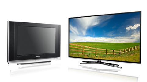 CRT, LED, LCD, SMART TV